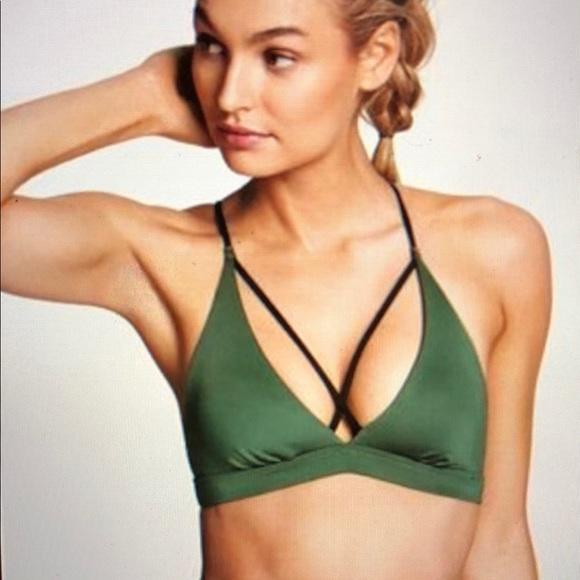 77b31e14b8b44 Victoria s Secret Strappy Triangle sport bra